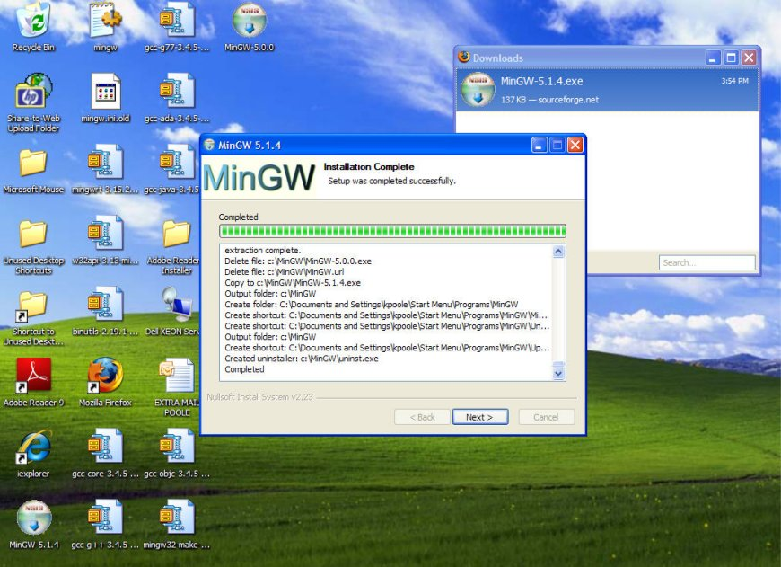How to Install MINGW Page